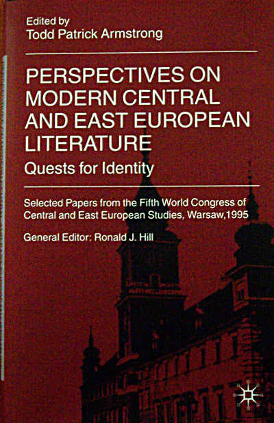 Perspectives on Modern Central & East European Literature