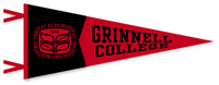 12 X 30 Red And Black Pennant