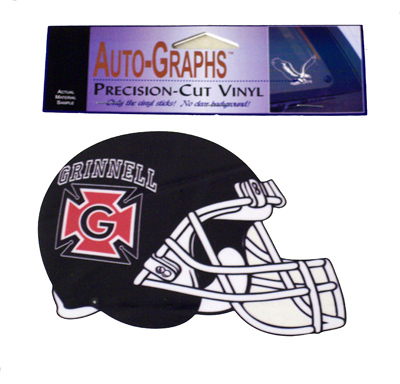 Honor G Football Helmet Decal