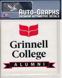 Alumni Decal With Logo