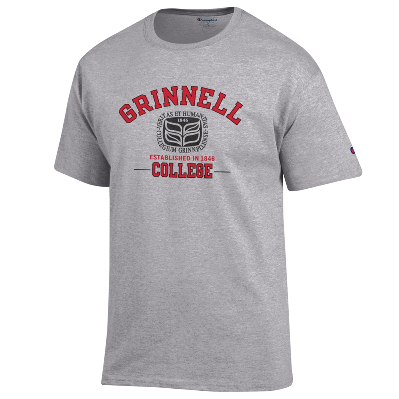 Grinnell College Seal T-shirt