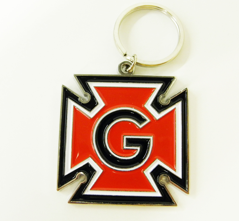 Honor G Cloisonne Key Tag