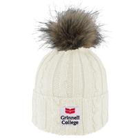 Alps Knit Hat with Pom