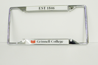 Grinnell College License Plate Frame