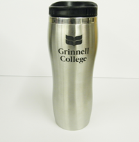 Curved Stainless Steel Travel Tumbler