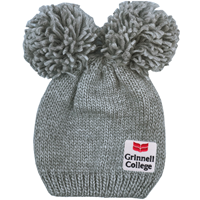 Leia Double Pom Knit Hat