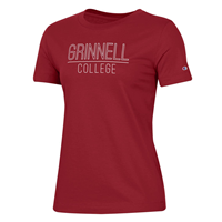 Ladies University Tee 2.0 black/red